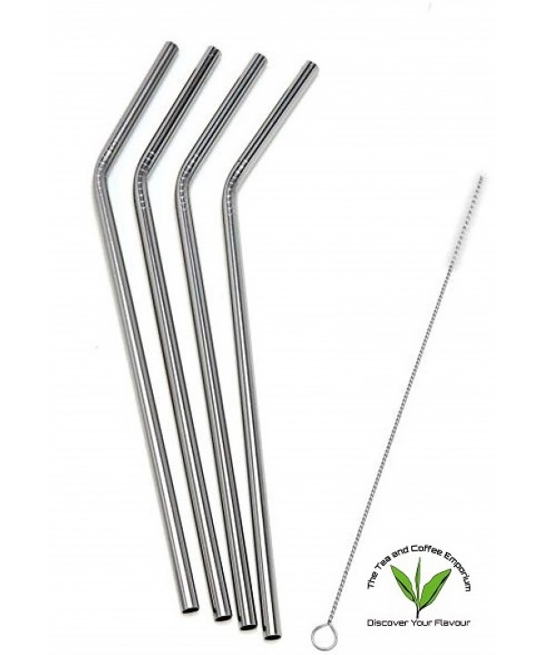 Stainless Steel Straws - 4's