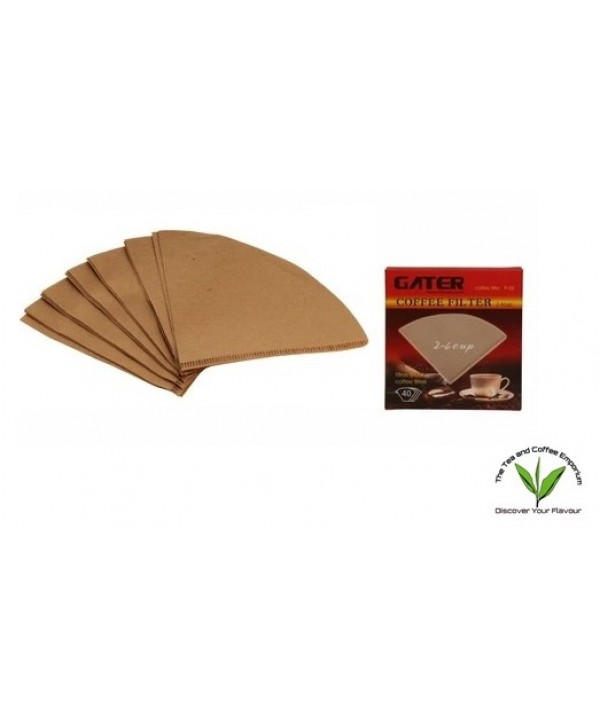 Gater Coffee Filter 2 - 4 Cups (40Pcs)