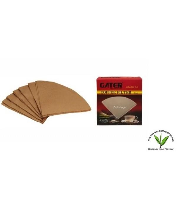 Gater Coffee Filter 1 - 2 Cups (40Pcs)