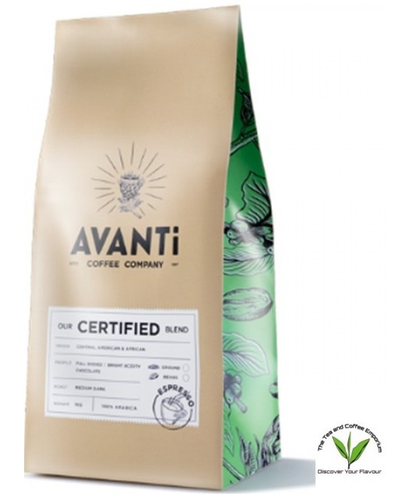 Avanti Certified Blend Coffee Beans - 250g