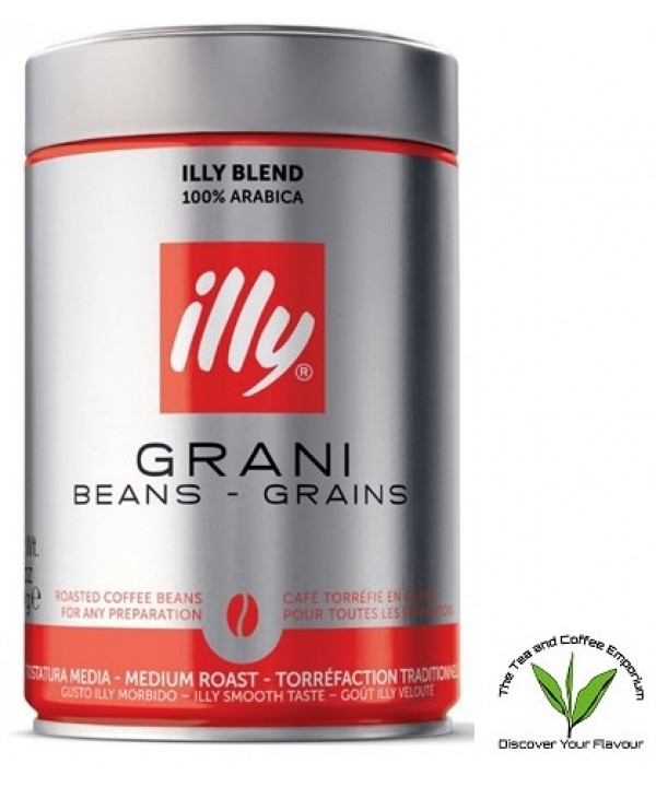 Illy Coffee Beans - Regular Tin 250g