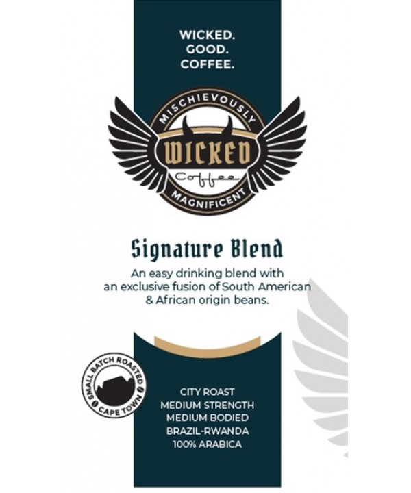 Wicked Coffee Signature Blend Beans 1kg