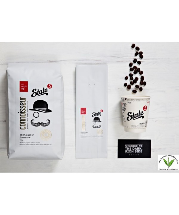 State 5 Connoisseur 1kg Coffee Beans