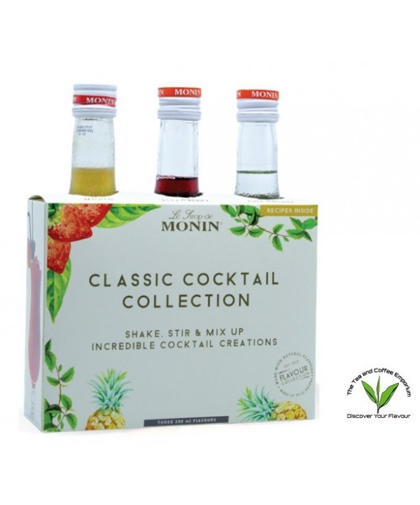 Monin Classic Cocktail Collection - 3's