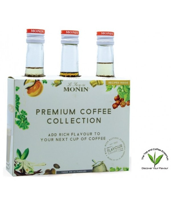 Monin Premium Coffee Collection - 3's