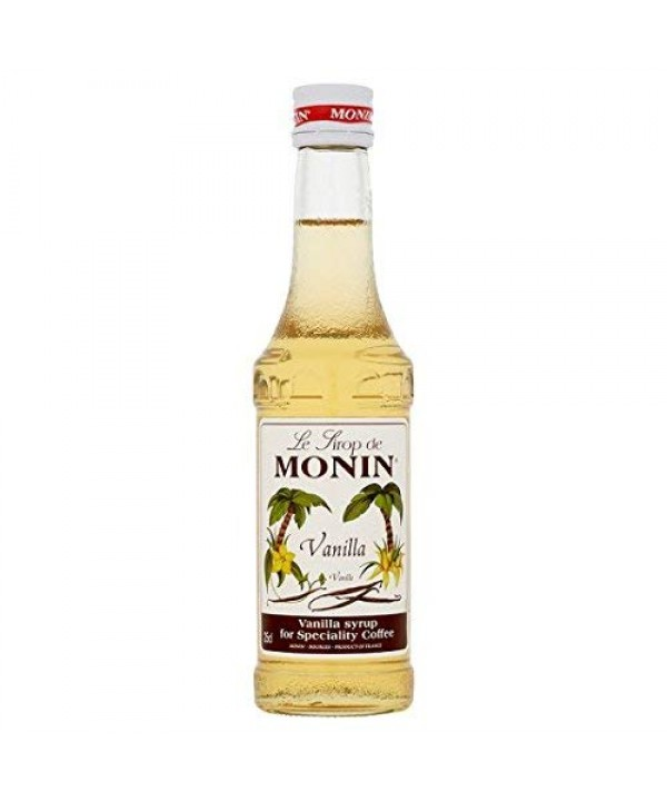 Monin Vanilla Syrups - 250ml