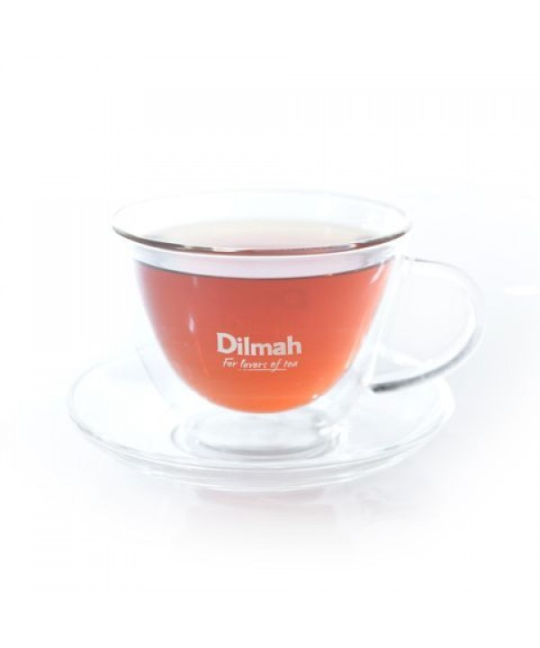 Dilmah Endane Double Wall Cup & Saucer