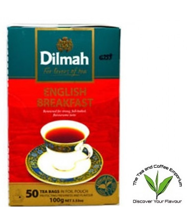 Dilmah Untagged Teabags 50's- English Breakfast