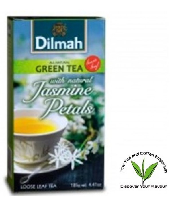 Dilmah Green Tea with Natural Jasmine Petals Loose...