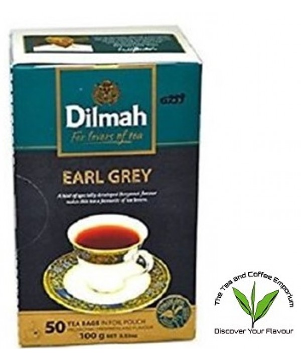 Dilmah Untagged Teabags Earl Grey- 50's
