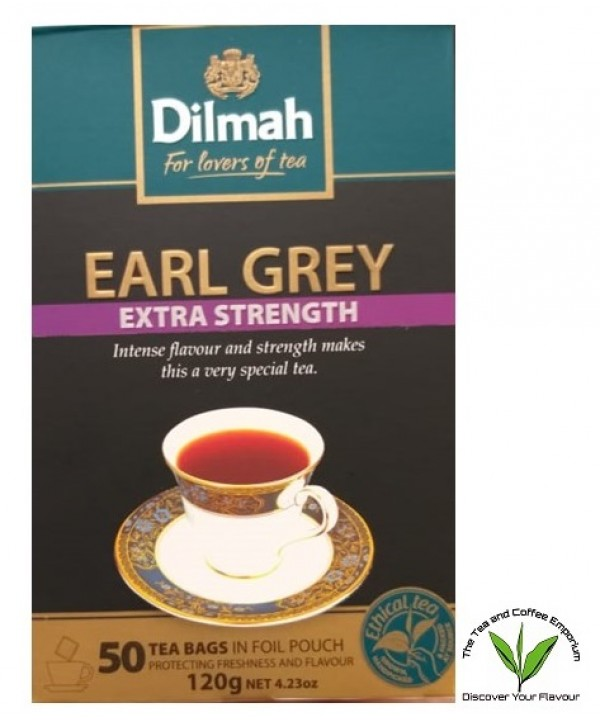 Dilmah Earl Grey Extra Strength Teabags - 50's