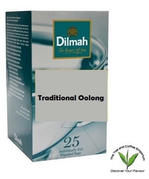 Dilmah Traditional Oolong Teabags 25's Enveloped