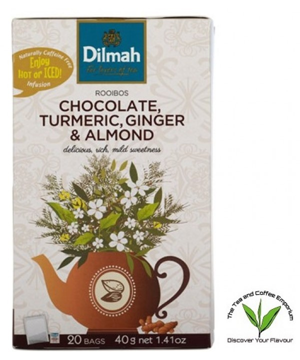 Dilmah Chocolate, Tumeric, Ginger & Almond Roo...