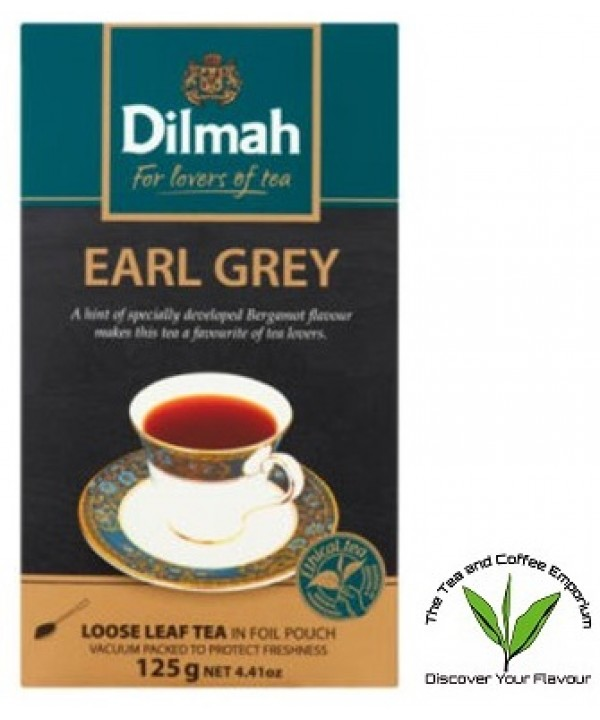 Dilmah Earl Grey Loose Leaf Tea 125g