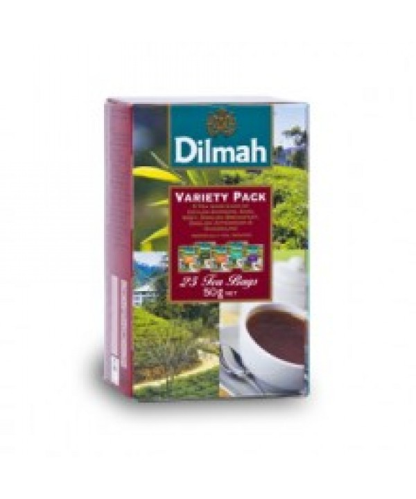 Dilmah Variety of Classic Black Teas 25's Envelope...