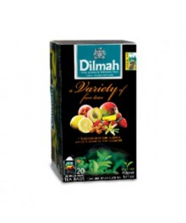 Dilmah Variety of Fun Fruit Teas 20's Enveloped