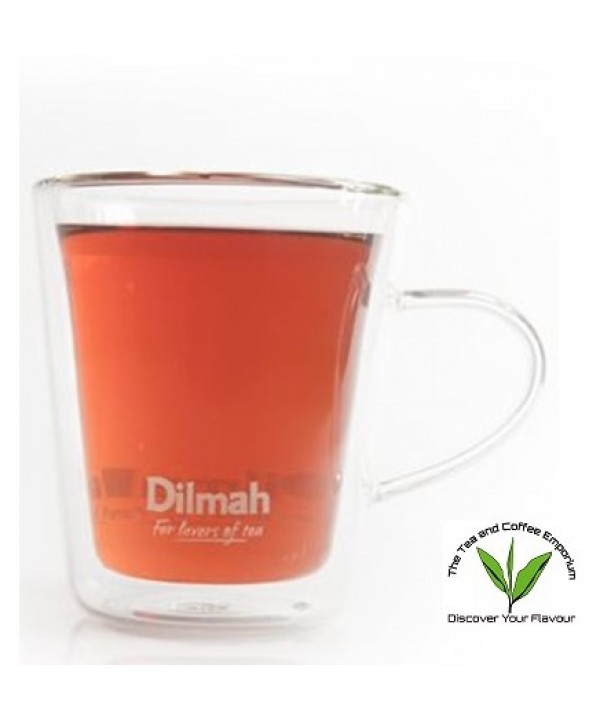 Dilmah Endane Double Wall Glass Mug