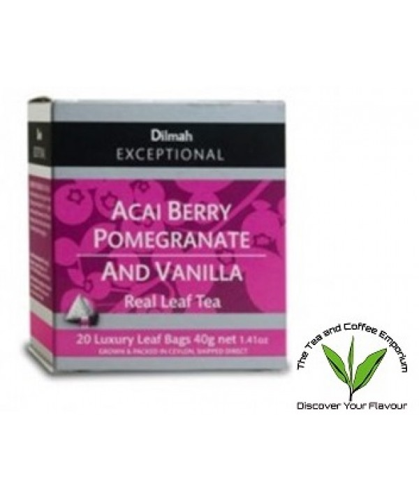 Dilmah Acai Berry Pomegranate and Vanilla Teabags ...
