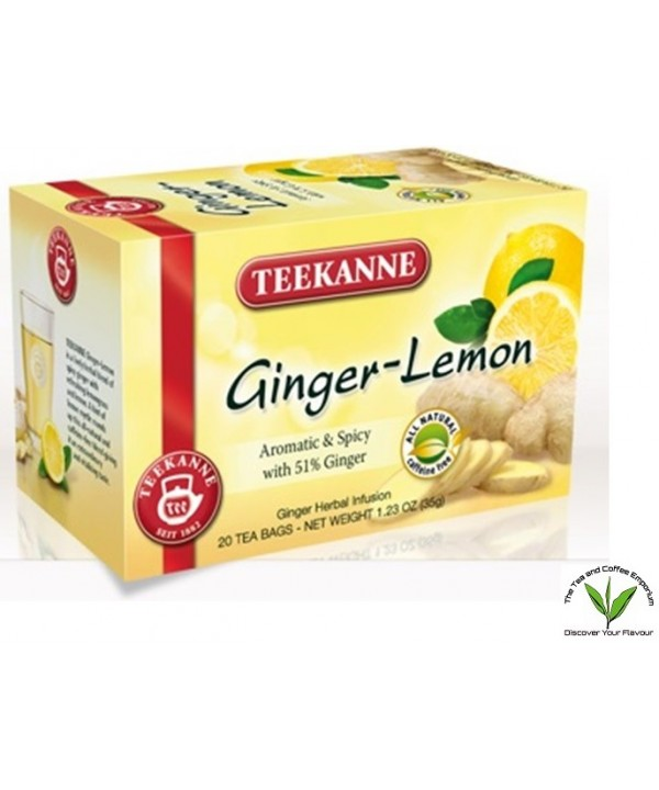 Teekanne Ginger Lemon Tea 20's