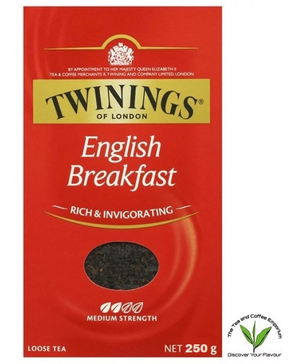 Twinings English Breakfast Loose Leaf Tea