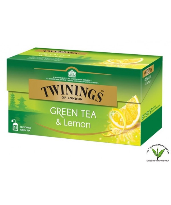 Twinings Green Tea and Lemon 25's