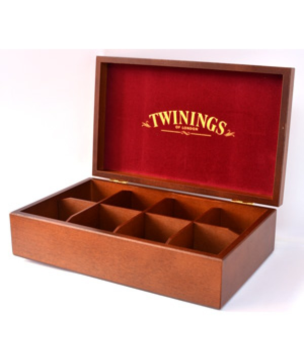 Twinings Tea Box 8 Slot - Unfilled
