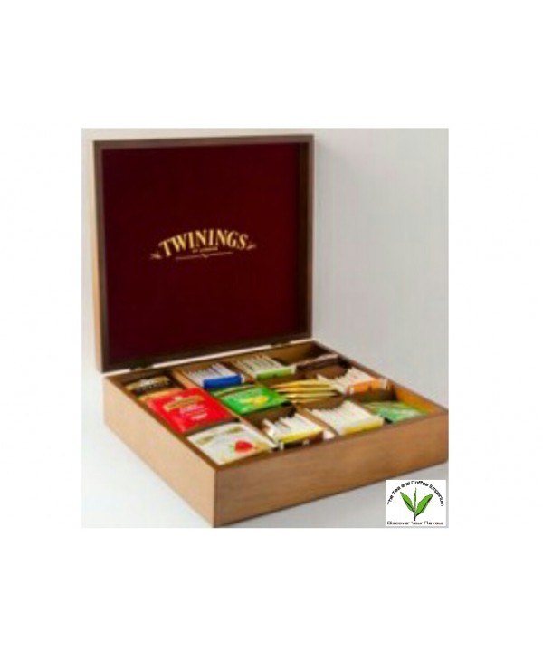 Twinings Tea Box 12 Slot - Filled