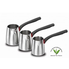 Korkmaz Gusto Coffee Pot Set - 2 - 3 - 4 Cup