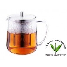 Regent Nandina Glass Teapot with Stainless Steel Infuser