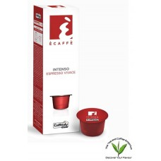 Caffitaly Ecaffe Coffee Capsules Intenso 10's