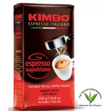 Kimbo Espresso Napolitano Coffee Ground 250g