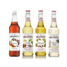 Monin Coffee Syrup Set - 4's