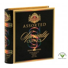 Basilur Assorted Speciality Classics Collection Tea Book  - 32's