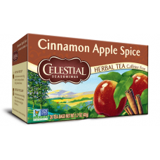 Celestial Cinnamon Aplle Spice Herbal Tea - 20's