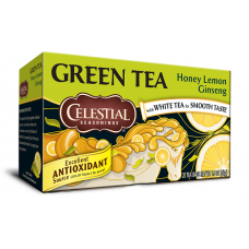 Celestial Green Tea Honey, Ginseng & Lemon - 20's