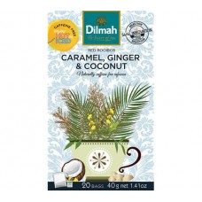 Dilmah Rooibos with Caramel, Ginger & Coconut 20's