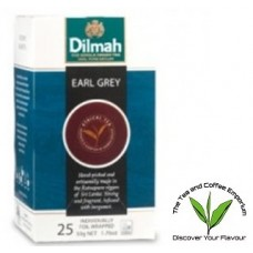 Dilmah Earl Grey Tea bags 25's Enveloped