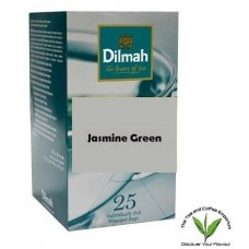 Dilmah Green Tea with Natural Jasmine Petals Teabags 25's Enveloped