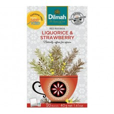 Dilmah Rooibos with Liquorice & Strawberry 20's - Tagged & Enveloped