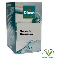 Dilmah Mango & Strawberry Flavoured Teabags 25's Enveloped