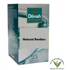Dilmah Natural Rooibos Teabags 25's Enveloped