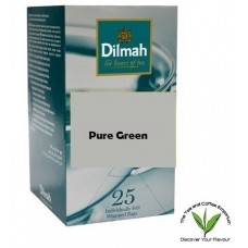 Dilmah Pure Green Teabags 25's Enveloped