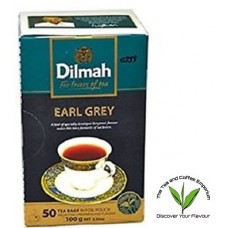 Dilmah Tagged Teabags Earl Grey- 50's