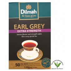 Dilmah Tagged Teabags Earl Grey Extra Strength - 50's