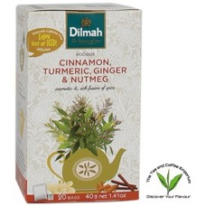 Dilmah Rooibos with Cinnamon, Tumeric, Ginger & Nutmeg 20's