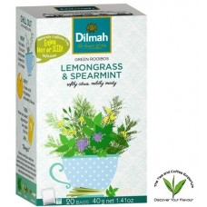 Dilmah Green Rooibos with Lemongrass & Spearmint 20's - Tagged & Enveloped