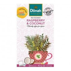 Dilmah Rooibos with Raspberry & Coconut 20's
