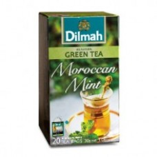 Dilmah Green Tea with Moroccan Mint Teabags 25's Enveloped