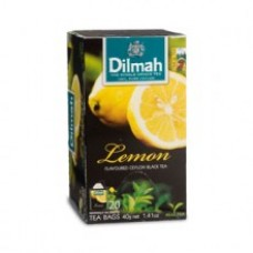 Dilmah Lemon Flavoured Teabags 25's Enveloped