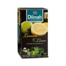 Dilmah Lemon & Lime Flavoured Teabags 25's Enveloped